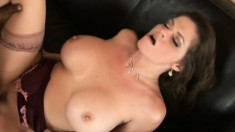 Mommy is on the pill and she wants all of his cum in her cunt