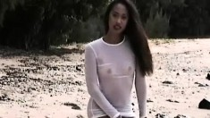 Slender Leilani Gets Off On Being Filmed While Showing Off Her Body