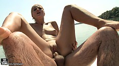 Clips of couples fucking outside who love the feel of fresh air and sun