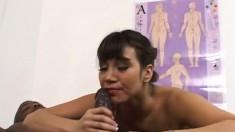 Kinky Asian Nurse With Big Boobs Ava Devine Can't Resist A Black Dick