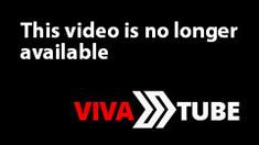 Horny brunette drills her pussy in masturbation video