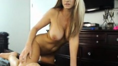 Blonde Babe With Big Boobs Is Fucked In The Ass