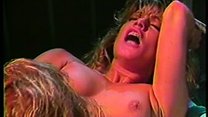 Brilliant foxy lady is sucking big clit of her passionate female partner