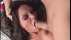 Precious charming adult actress feels ready for hardcore anal drilling