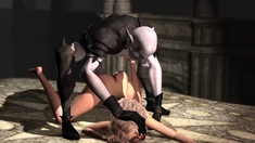 A Sexy Woman Gets Fucked Hard By A Demon Zepar In The Castle