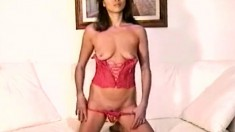 Delightful Oriental milf Monica loves to expose her sexy slender body
