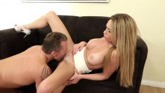 Attractive Russian Blonde Subil Has Her Hung Boss Plowing Her Snatch