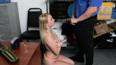Dixie Lynn shows poker face while getting fuck by LP