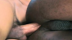 Homos Dennis and Ricco share the cock sucking and ass fucking and even the man cream