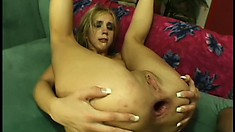Gorgeous blonde Kelly Wells get her juicy round ass destroyed