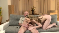 Old man bus and woman sex first time Russian Language